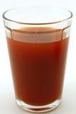 Vetro del succo di pomodoro fresco Fotografia Stock