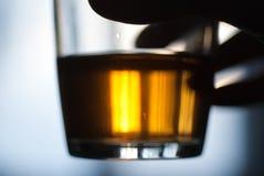 Vetro del tè Fotografie Stock Libere da Diritti