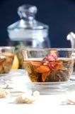 Vetro del tè del oolong della tazza Fotografia Stock