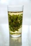 Vetro del tè della menta Fotografia Stock Libera da Diritti