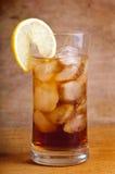 Vetro del tè di ghiaccio Immagine Stock