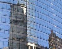 Vetro del Times Square Fotografia Stock Libera da Diritti