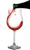 Vetro del vino rosso Immagine Stock Libera da Diritti
