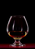 Vetro del whiskey Immagine Stock