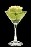 Vetro della bevanda Fotografie Stock