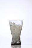 Vetro della coca-cola Immagine Stock
