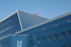 vetro della costruzione moderno immagini stock
