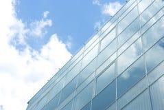 vetro della facciata Fotografia Stock Libera da Diritti