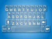 Vetro della tastiera Immagine Stock Libera da Diritti