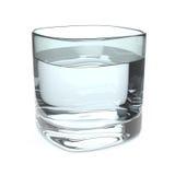 Vetro di acqua illustrazione di stock