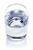 Vetro di acqua Fotografie Stock Libere da Diritti