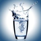 Vetro di acqua Fotografia Stock Libera da Diritti