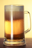 Vetro di birra fotografia stock libera da diritti