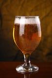 Vetro di birra leggera Immagini Stock