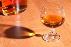 Vetro di brandy Fotografie Stock