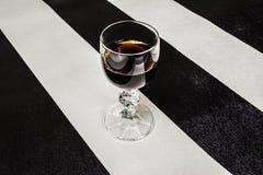 Vetro di brandy Fotografie Stock Libere da Diritti