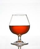 Vetro di brandy del cognac Fotografia Stock Libera da Diritti