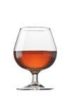 Vetro di brandy del cognac Fotografie Stock Libere da Diritti