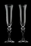 Vetro di Champagne Fotografia Stock
