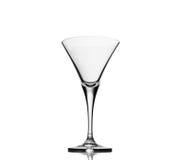Vetro di cocktail vuoto Fotografia Stock Libera da Diritti