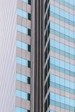 Vetro di costruzione moderno Fotografie Stock Libere da Diritti