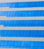 Vetro di costruzione moderno Immagini Stock Libere da Diritti