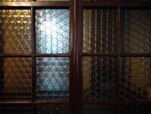Vetro di vetro della porta immagini stock