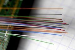 Vetro di fibra ottica immagine stock libera da diritti