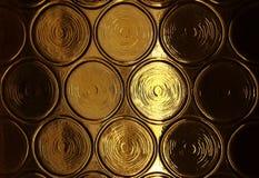 Vetro di finestra ambrato Immagini Stock Libere da Diritti