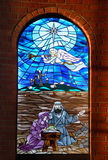Vetro di finestra della chiesa 2 Immagini Stock Libere da Diritti