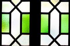 Vetro di finestra per progettazione del fondo di struttura Immagini Stock