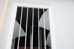 Vetro di finestra rotto fotografia stock libera da diritti