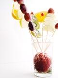 Vetro di frutta Fotografia Stock Libera da Diritti