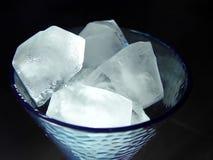 Vetro di ghiaccio immagini stock libere da diritti