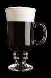 Vetro di irish coffee immagine stock