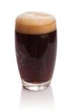 Vetro di kvas con schiuma Fotografia Stock Libera da Diritti