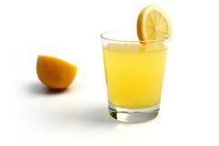 Vetro di limonata Fotografie Stock