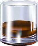 Vetro di liquore Fotografia Stock