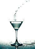 Vetro di Martini Immagine Stock