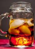 Vetro di soda Fotografia Stock Libera da Diritti