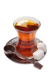 Vetro di tè immagini stock