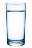 Vetro di tabella-acqua. Fotografie Stock