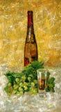 Vetro di vino Fotografia Stock
