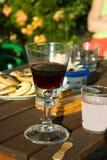 Vetro di vino Fotografie Stock Libere da Diritti