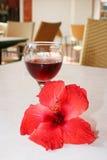 Vetro di vino, Fotografie Stock