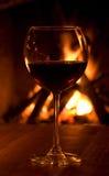 Vetro di vino Fotografie Stock