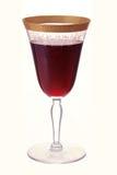Vetro di vino antico Immagini Stock Libere da Diritti