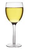 Vetro di vino bianco Immagine Stock