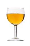 Vetro di vino isolato Immagini Stock Libere da Diritti