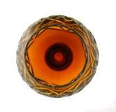 Vetro di vino - sfera di fuoco fotografie stock libere da diritti